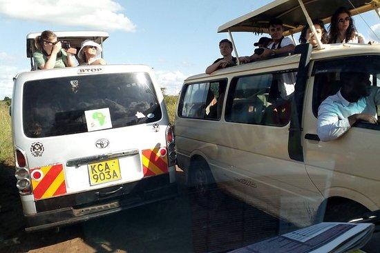ナイロビからの3日間のマサイマラサファリ
