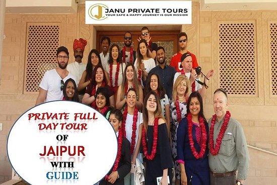 Privat Helgdagstur i Jaipur med guide