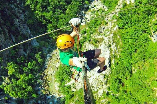 Bovec的Zipline体验