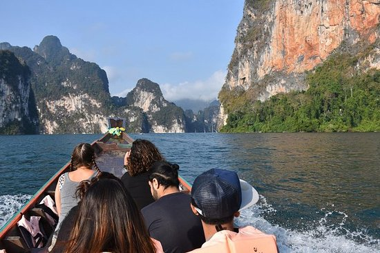 來自甲米的2天Cheow Lan Lake Raft House