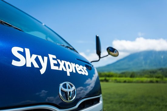 SkyExpress Privater Transfer: Neuer Flughafen von Chitose nach Niseko (8 Passagiere): Private Transfer: New Chitose Airport to Niseko (8 Seater with Luggage)