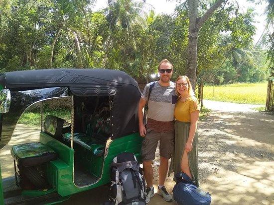 Debarawewa, ศรีลังกา: Tuk Tuk Rides around Tissa lake