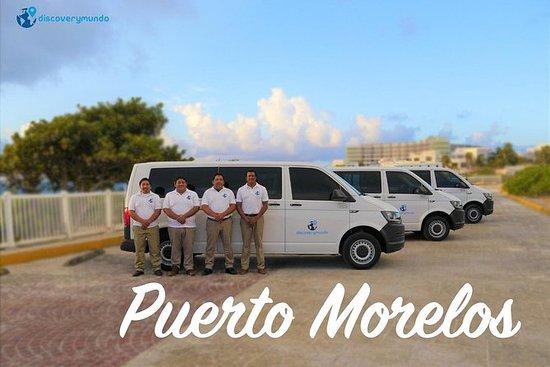 Hin- und Rücktransfer vom Flughafen nach Puerto Morelos mit DiscoveryMundo: Roundtrip Airport Transportation to Puerto Morelos with Discoverymundo