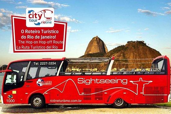 Excursão de ônibus da linha Rio-Rio...