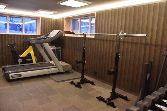 Sulitjelma, Norway: Fitness room