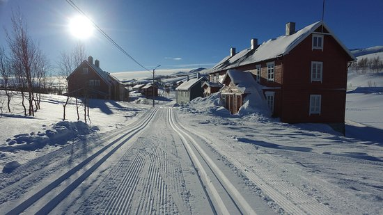 Sulitjelma, Norway: Right outside the Resort