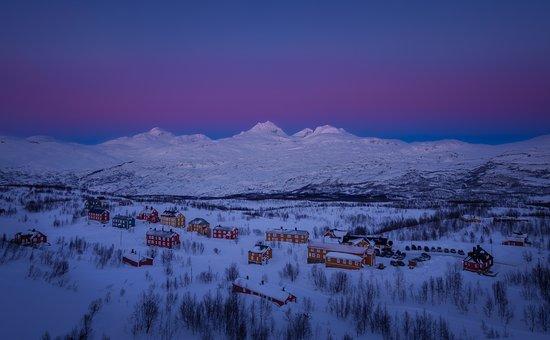 Sulitjelma, Norway: Overview of Jakobsbakken