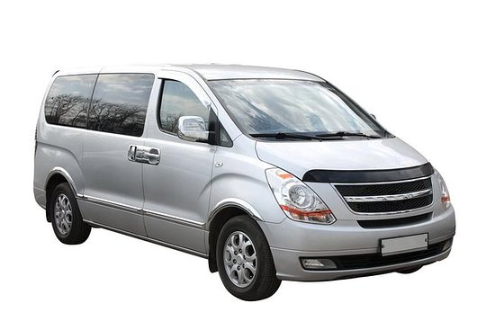 Transfer in private minivan from San Pedro Sula La Mesa Airport to City