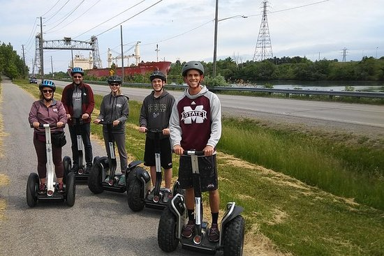 Segway Tour along the Welland Canal 1h