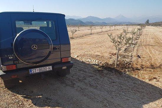 Jeep y río Safari Mosor Cetina Bikovo...