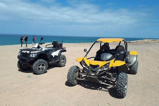 SAFARI DE QUAD ET BUGGY À COSTA CALMA