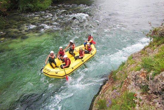 O melhor Rafting no rio Sava em Bled