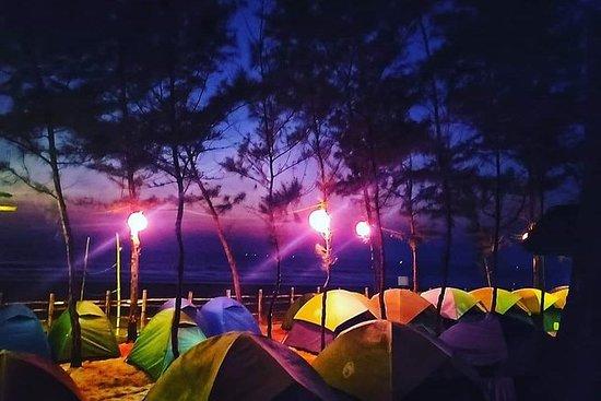 gokarna beach trek og camping