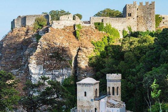 Il borgo medievale di Erice: mezza
