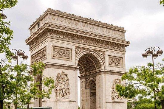 Croisière Arc de Triomphe et Seine
