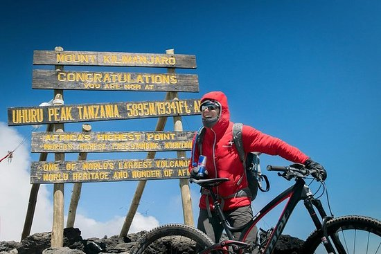 Biking Kilimanjaro