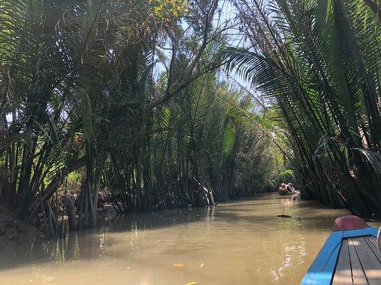 Ho-Chi-Minh-Stadt, Vietnam: Boat Ride on River