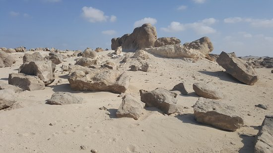 Duqm, Oman: Rock Garden