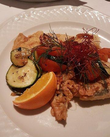 Dorum, Germany: Verschiedene Fischsorten