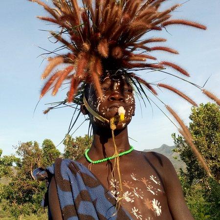 Jinka, Ethiopia: The Surma tribe of Omo Valley