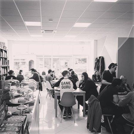 Warwickshires first dedicated Board Game Cafe