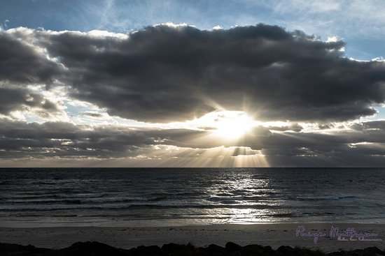 Henley Beach, Australia: Dulled colours to draw attention to the magnificent light of the setting sun.