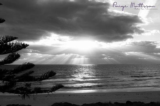 Henley Beach, Australia: Black and White Beach scene