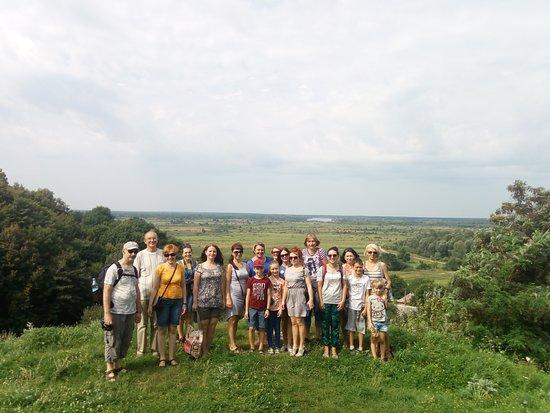 Chernihiv Oblast, ยูเครน: поездка в Любеч