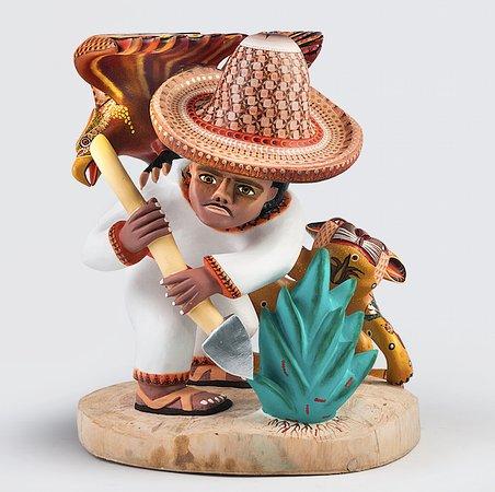 San Martin Tilcajete, מקסיקו: pieza del taller Zeny Fuentes y Reyna