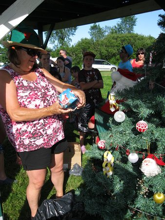 Christmas In July Camping Decorations.Nine Mile River Images Vacation Pictures Of Nine Mile