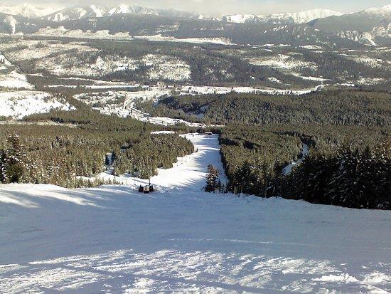 Elkford, Canada: Top of Wapati Ski Hill