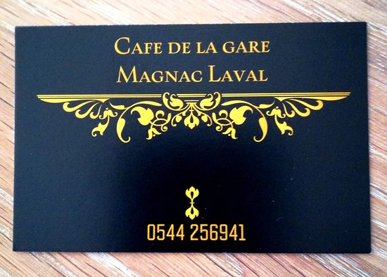Magnac-Laval, France: Easy to find –best to make a reservation!