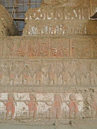 Museo Huacas de Moche: That wall today