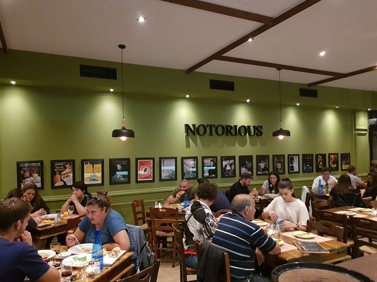 Andravida, Hy Lạp: Notorious Pizza-Pasta