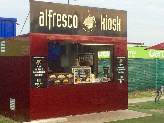 Grantville, Australia: Alfresco Kiosk.