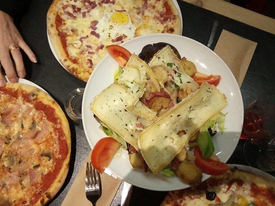 Le Saint Antoine Pizzeria: Bon copieux  bien présenté