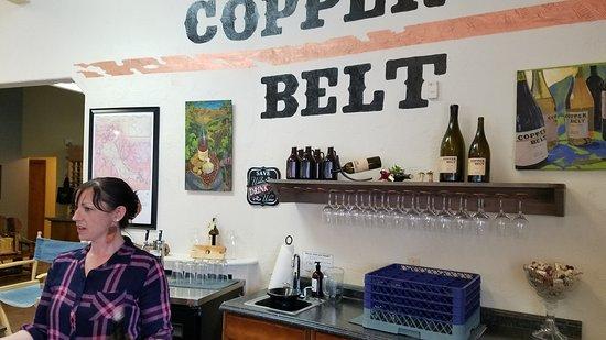 Baker City, OR: Copper Belt Winery Tasting Room