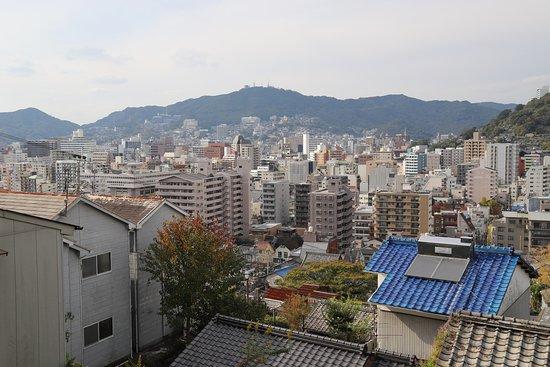 Statue of Ryoma Sakamoto's Boots: ぶーつ像からの景色