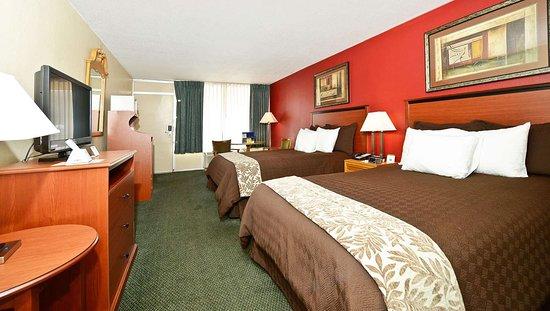 MH MountainView Covington VA Guestroom TwoDouble