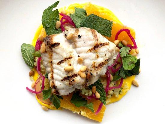715 Restaurant : grilled monkfish