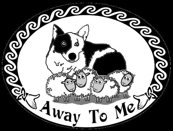 Malin Beg, Irlandia: Away to Me Sheepdog Demonstrations