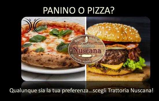 Pozza, Panino o Gastronomia. Trattoria Nuscana offre tanta qualità ad un prezzo ottimo.