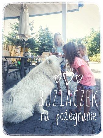 Jantar, Poland: Graham żegnający swoich gości :)