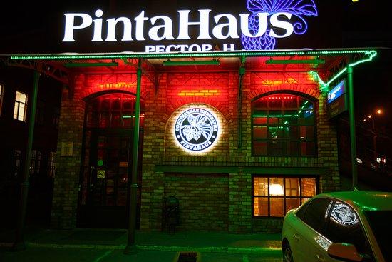 #pintahaus в самом центре города
