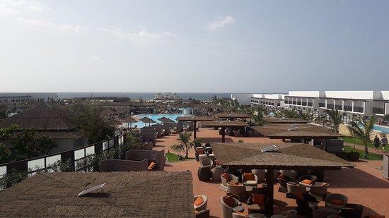 Melia Llana Beach Resort & Spa: View from the reastaurant