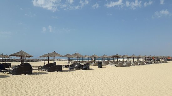Melia Llana Beach Resort & Spa: View of the beach