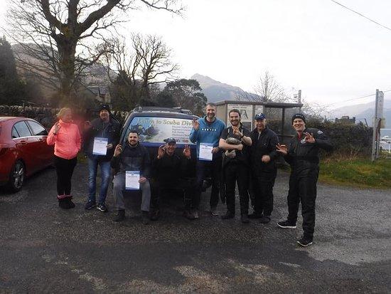 Falkirk District, UK: OW candidates Carrick Castle