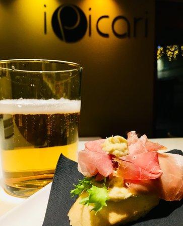 I Picari il ristorante: cicchetto e birra...