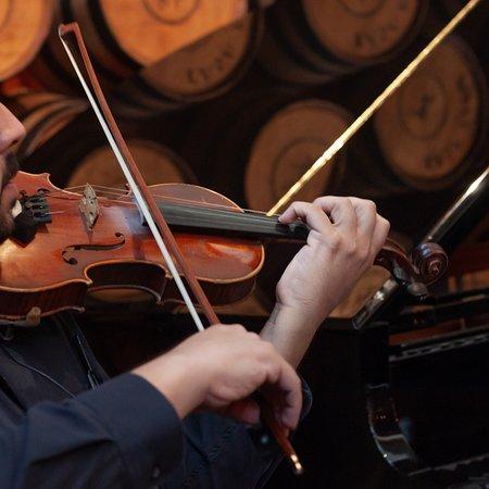 Ofrece música de violín y saxofón en vivo para hacer de tu desayuno o reunión un tiempo agradable