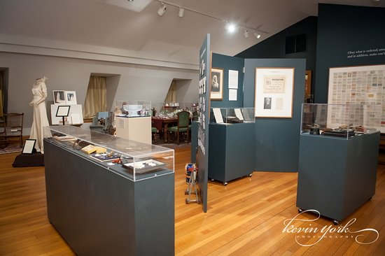 Bryn Athyn, PA: Cairnwood Family Gallery on the third floor of the Estate.